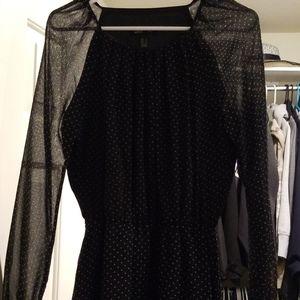 Stunning polka dot dress